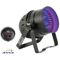 Projecteur par 56 led noir RGB