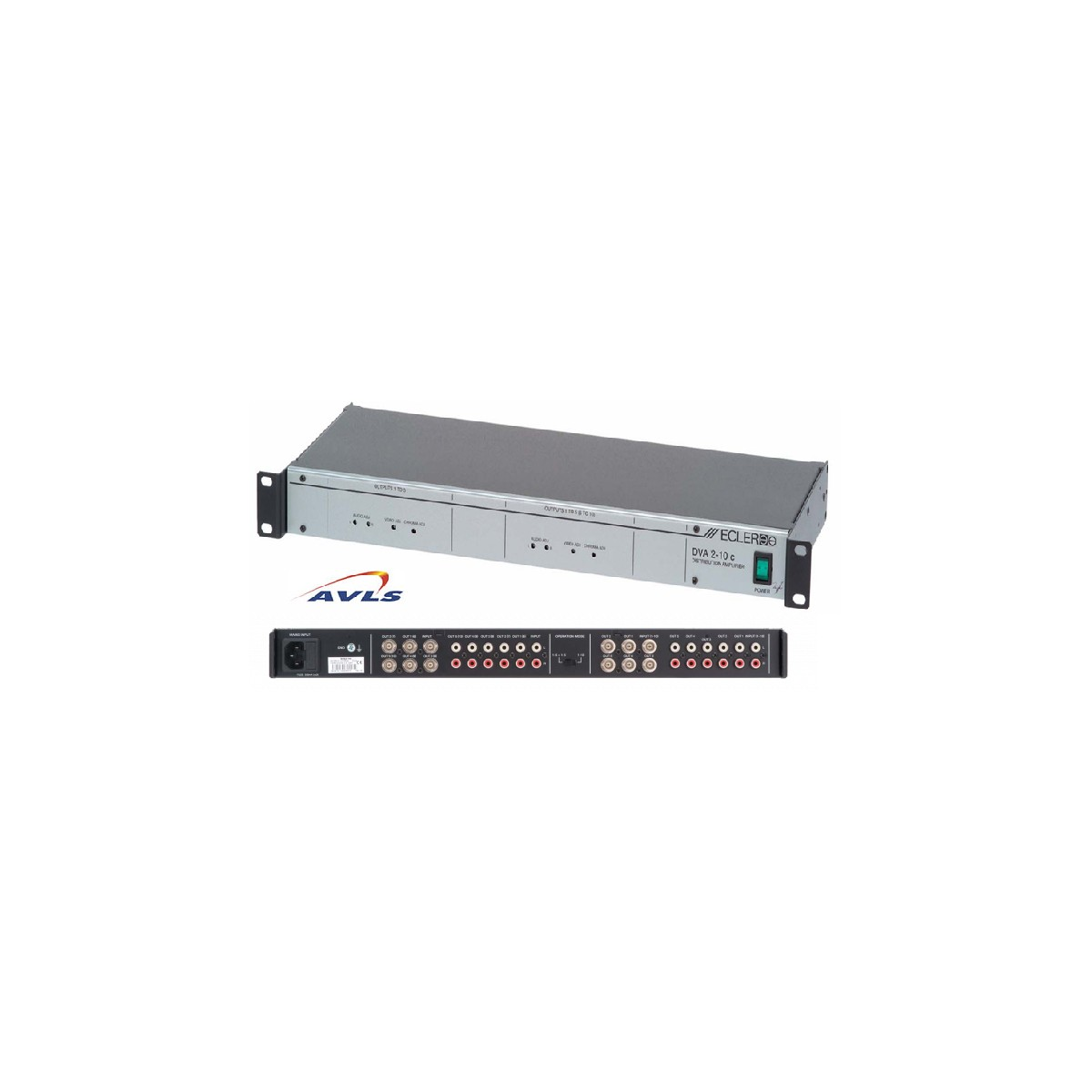 DVA2-10C Distributeur vidéo - Audio