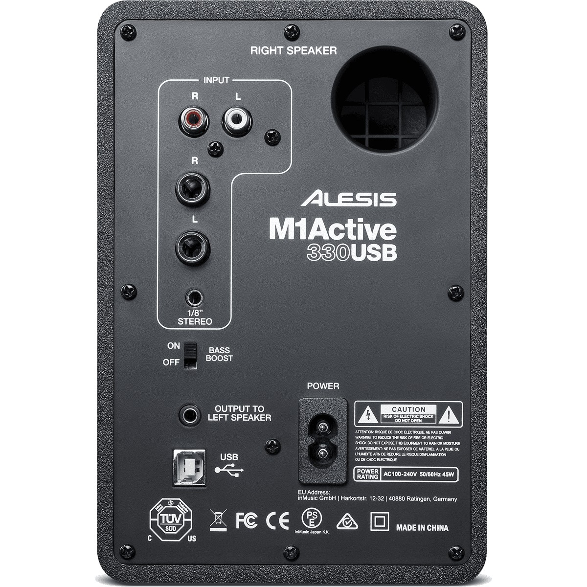 M1ACTIVE330USB Enceinte monitoring amplifiée