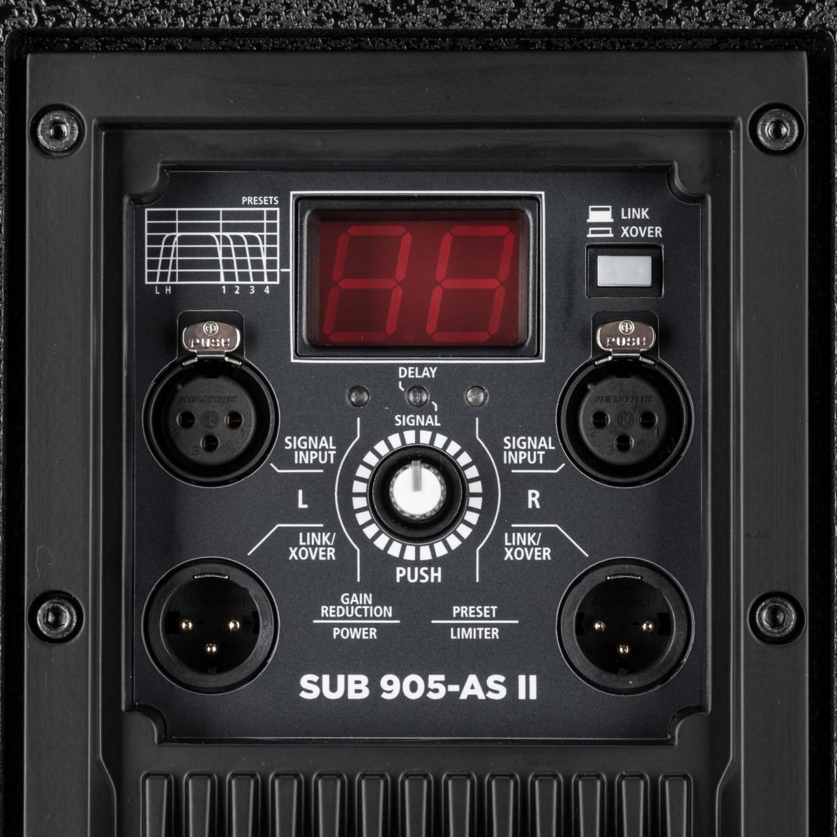 ART 905 AS II Caisson de basse actif 2200 W
